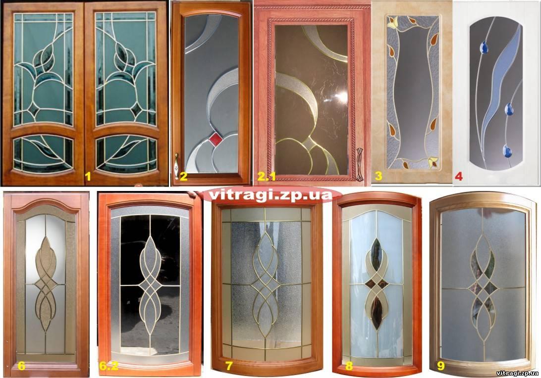 Вставки витражные в мебельные фасады. 1800х350 4шт. витражи .